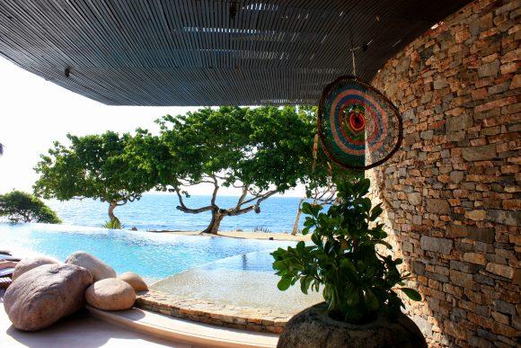 The pool at Casa Majani