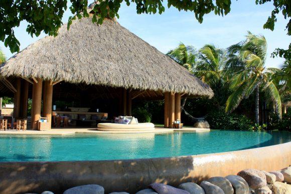 Pool Area at Casa Majani