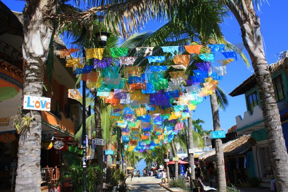 The town of Sayulita Mexico