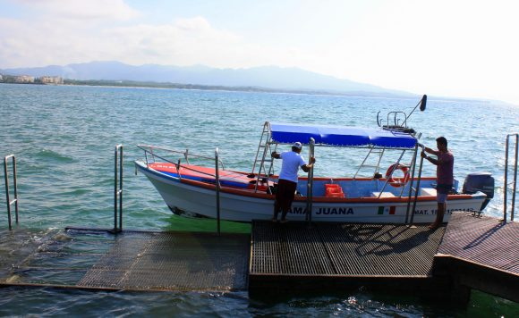 Panga Boat ride to the Marietta Islands Biosphere Reserve