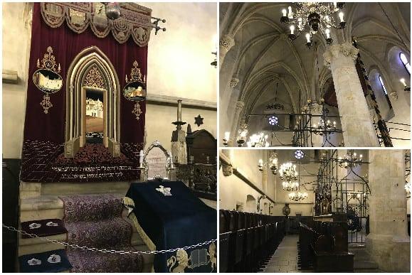 Old-New Synagogue Jewish Quarter Prague