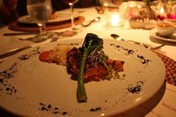 Casa Majani Red Snapper Dinner Plate