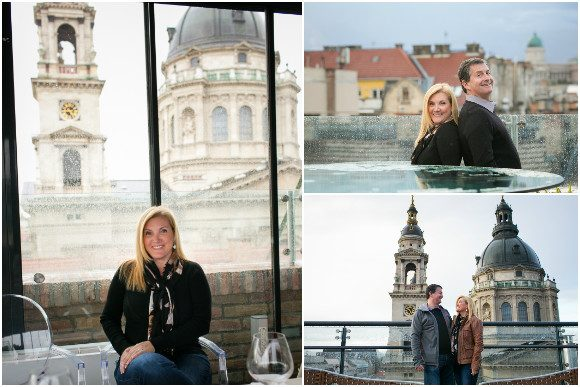 At the HighNote SkyBar - Aria Hotel Budapest photos by Flytographer