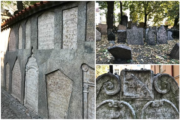 Jewish Cemetery Prague Graves