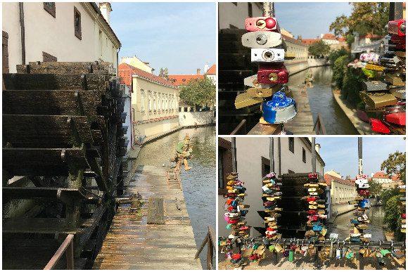 Old Mill Wheel Kampa Island, Prague Czech Republic