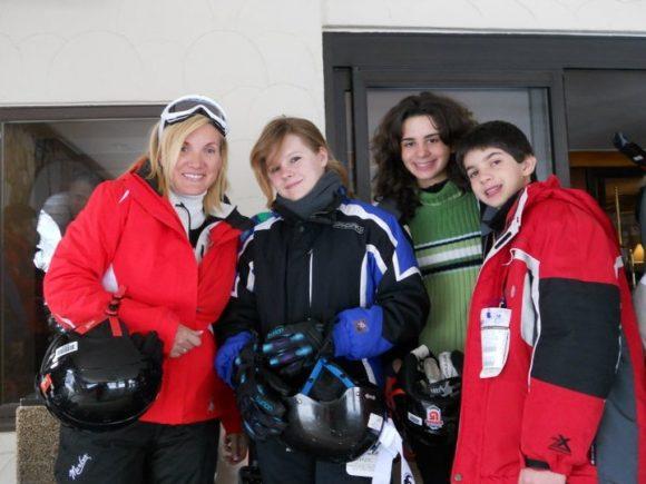 Family Ski Trip in Beaver Creek