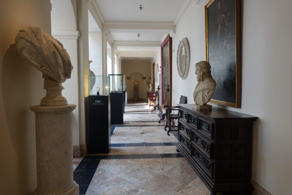Statues throughout the hallways - Villa Padierna Hotel Palace