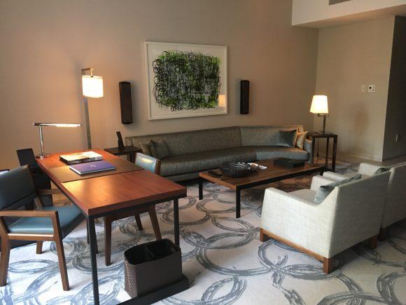 Park Hyatt New York King Room Living Room Suite