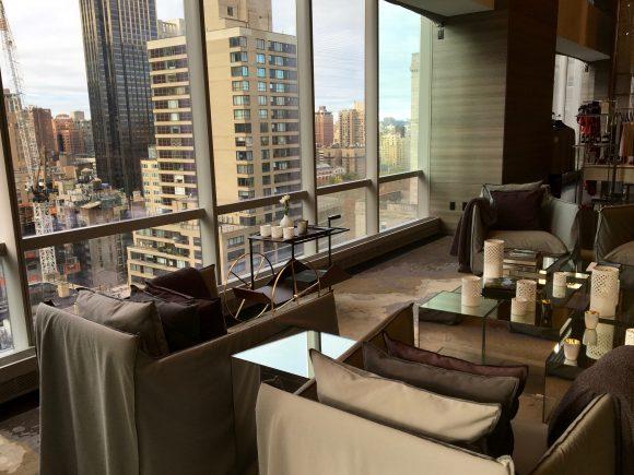 Spa Nalai Reception Area View - Park Hyatt New York