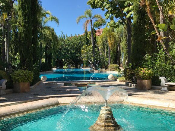 Villa Padierna Palace Hotel Pool Area