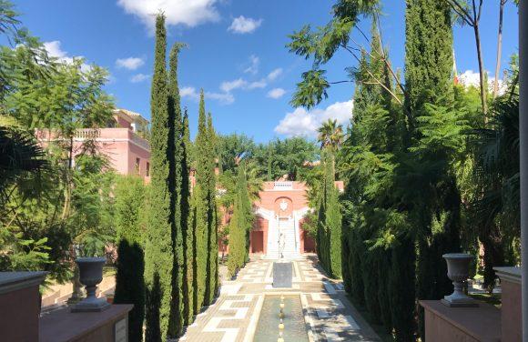 The Amphitheater area and gardens - Villa Padierna Palace Hotel