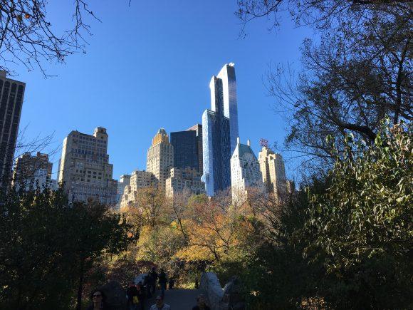 Park Hyatt New York towering over all the buildings