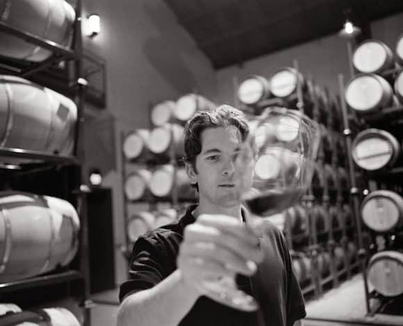 Photo by Trinchero Napa Valley - Mario Monticelli Barrel Room
