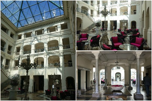 The Villa Padierna Palace Hotel Lobby Area