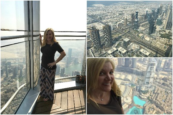 Observation Deck on the 148th Floor of the Burj Khalifa