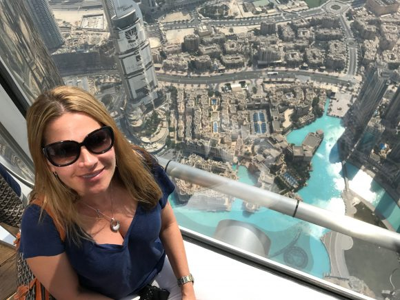 The views from the 148th Floor of the Burj Khalifa