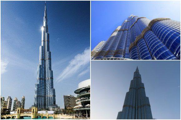 The Burj Khalifa is shaped like a Hymenocallis flower