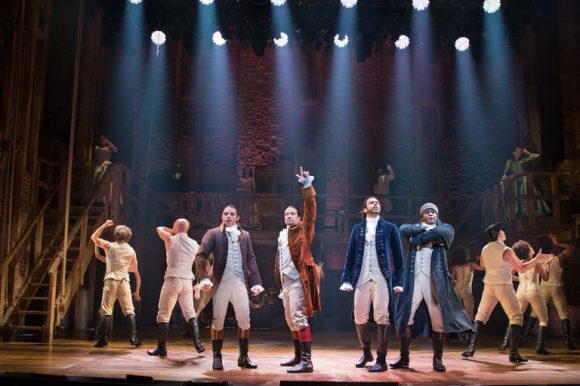 Hamilton Musical Courtesy of Broadway Richard Rodgers Theatre