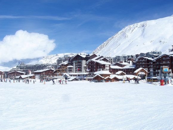 Tignes Village - Photh by Lacelesschunk under the CC License