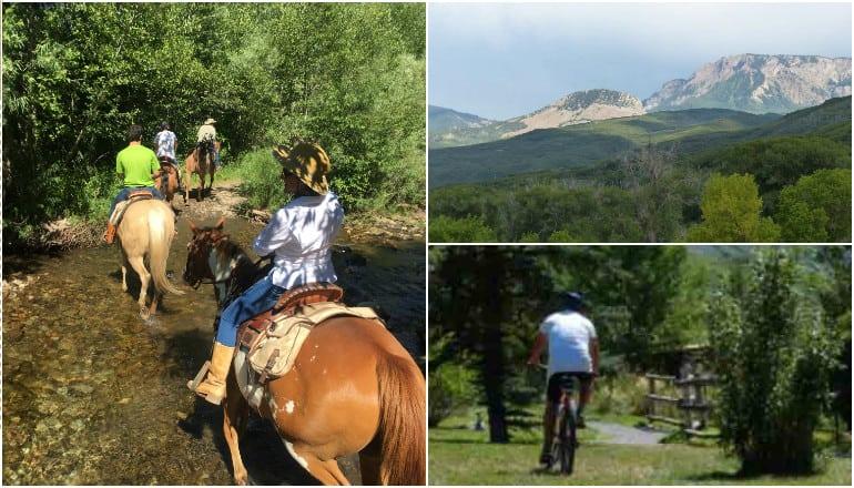 Hiking and Horseback Riding at Smith Fork Ranch Colorado