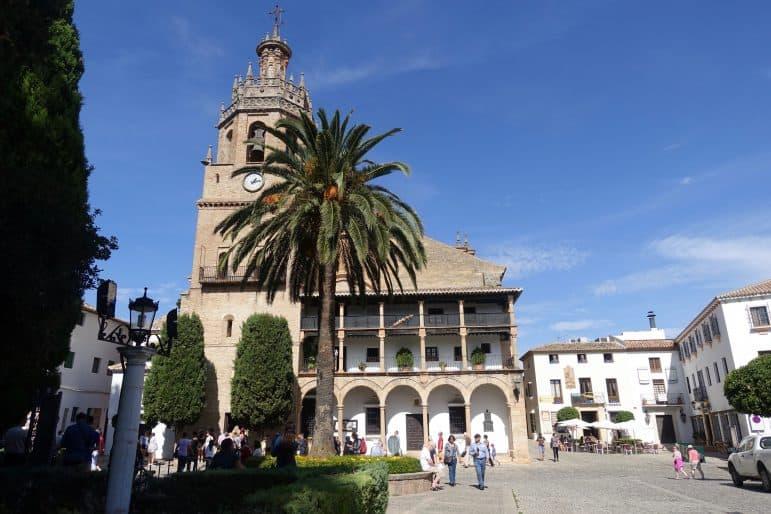 Santa Maria de Mayor Iglesia - Ronda photo by Carmen Edelson (Carmen's Luxury Travel)