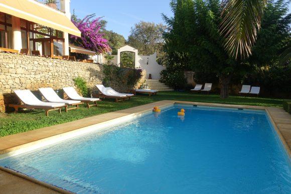 Pool Area of Hotel la Fuente de La Higuera, Ronda, Spain (Photo Carmen's Luxury Travel)