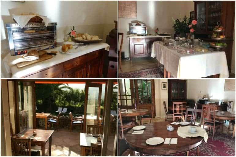 Buffet Breakfast at Hotel la Fuente de la Higuera, Ronda, Spain (Photo Carmen's Luxury Travel)