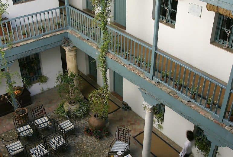 Image Azahar Restaurant Patio Seating Area