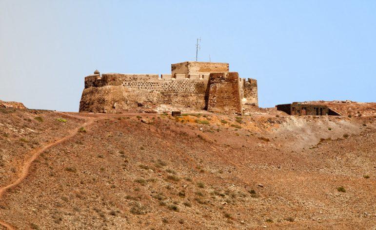 El Castillo de Santa Bárbara situated in the mountain of Guanapay Image LaguiPhoto