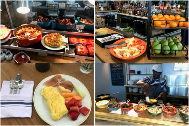 Buffet Selections at Point Royal Restaurant - Diplomat Beach Resort Hollywood