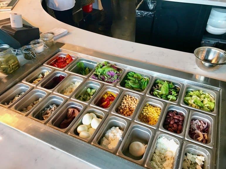 MidiCi Selection of Ingredients - Photo courtesy Carmen's Luxury Travel