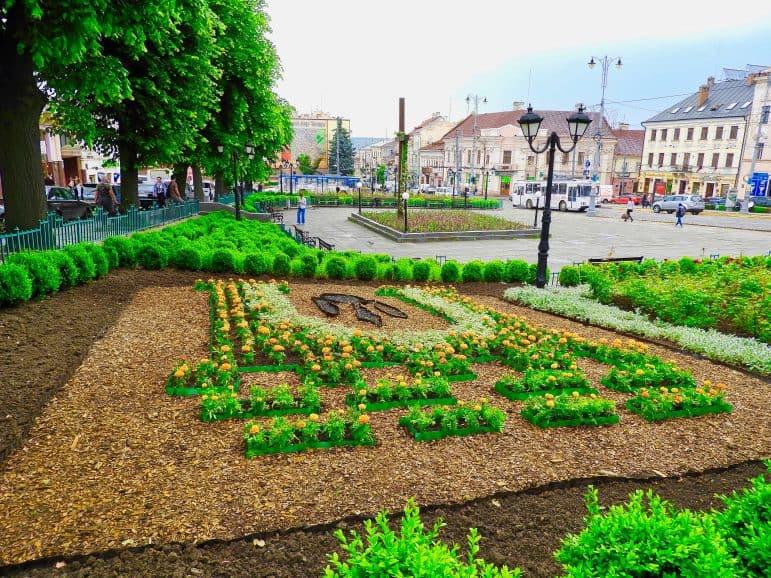Chernivtsi Park Garden