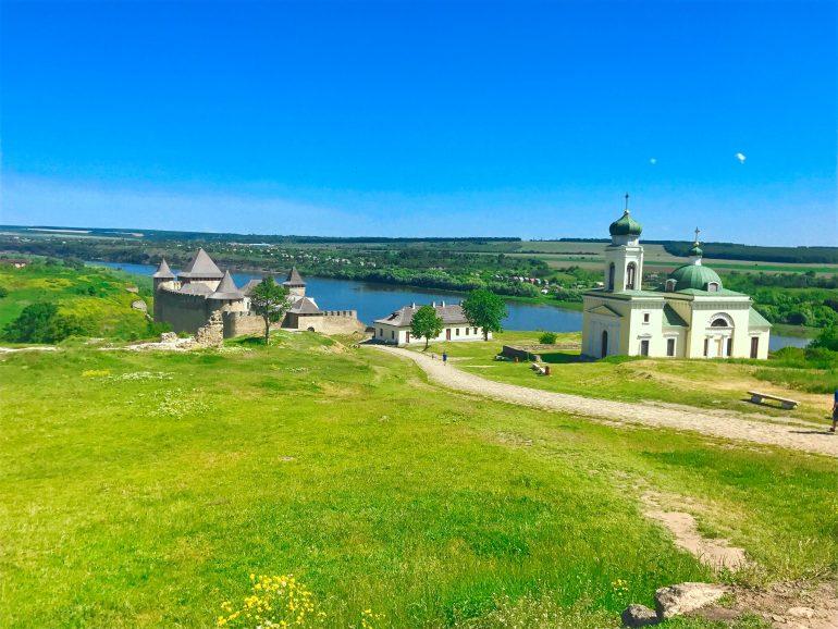 Khotyn Fortress and Alexander Nevsky Church