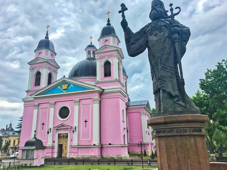 The Holy Spirit Orthodox Cathedral - Pink Church