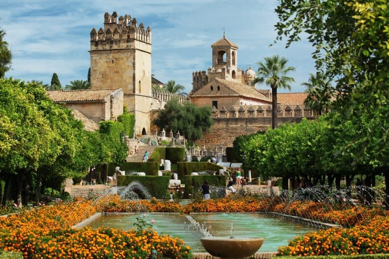 The Alcazar, Cordoba Spain