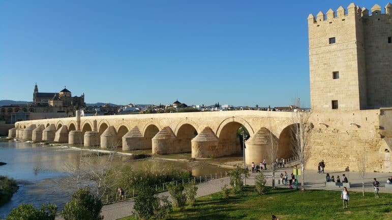 The Guadalquivir, Cordoba Spain