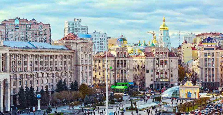 Khreshchatyk Street Kiev