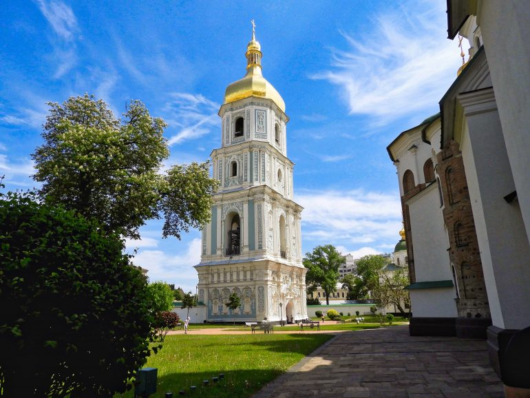 Bell Tower of St.Sophia Cathedral Kiev