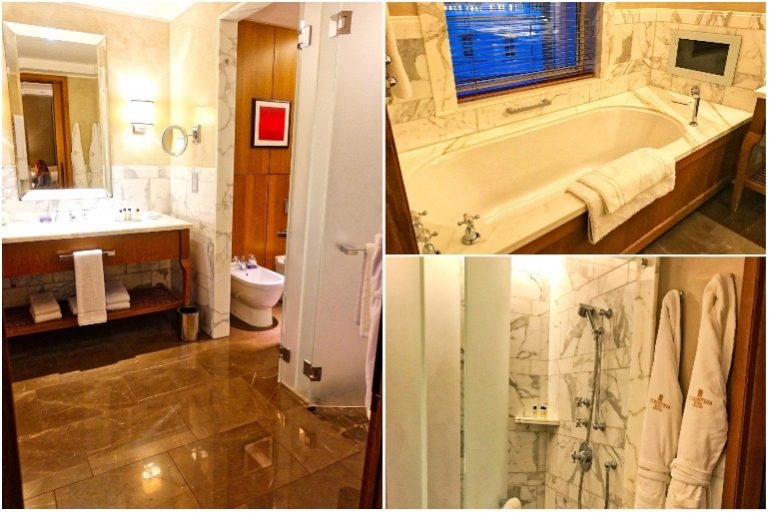 Executive King Bathroom - Corinthia Hotel London