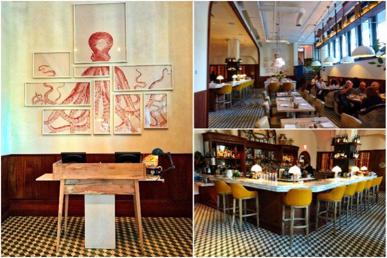 Leuca Restaurant Interior - The William Vale