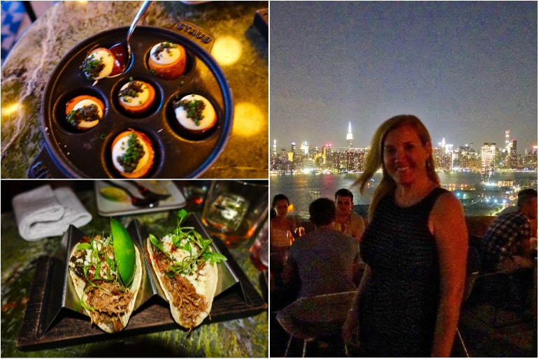 Tapa Style Food at Westlight Rooftop Bar - The William Vale Hotel