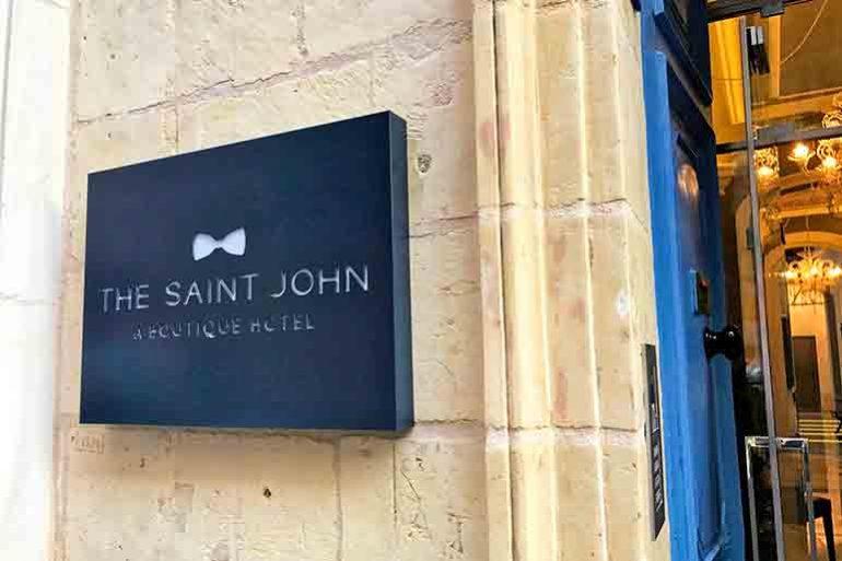 The Saint John Entrance