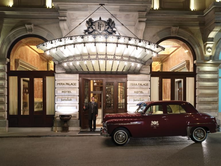 Pera Palace Hotel Jumeirah Istanbul Entrance