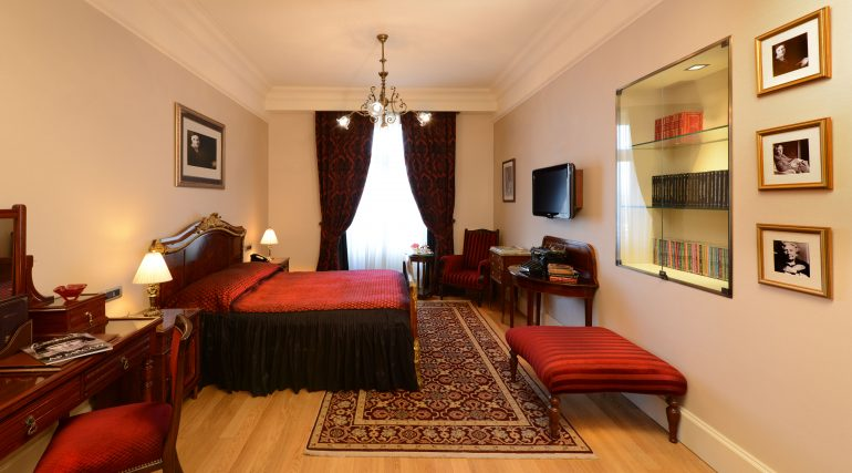 Agatha Christie King Room - Pera Palace Istanbul