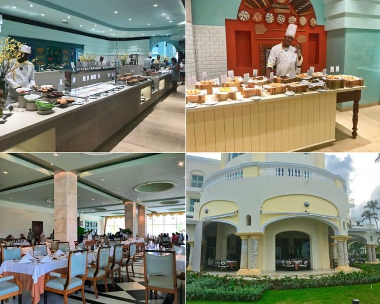 Bella Vista Restaurant Breakfast Buffet - Iberostar Grand Hotel Bavaro