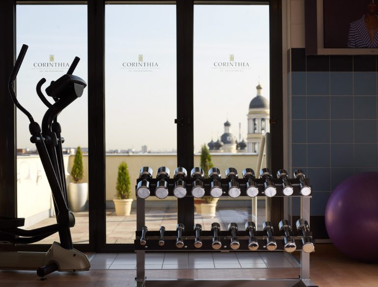 Fitness Center - photo Corinthia Hotel St Petersburg