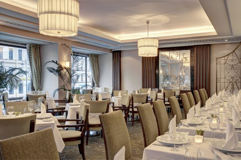 Imperial Restaurant - photo Corinthia Hotel St Petersburg
