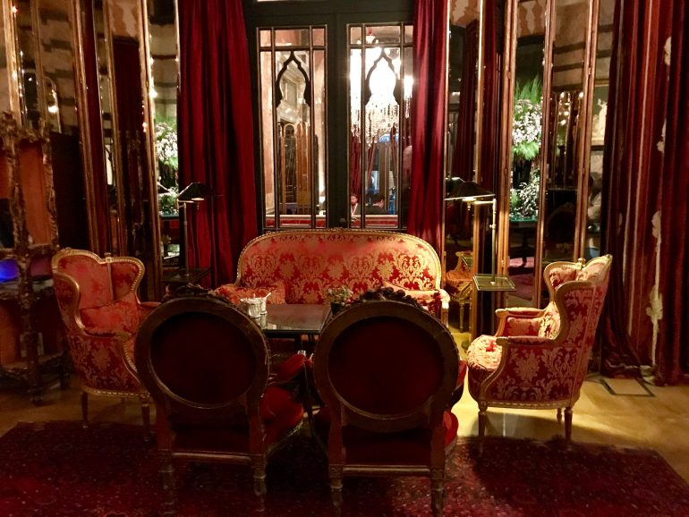 The Library Room Area - Pera Palace Istanbul