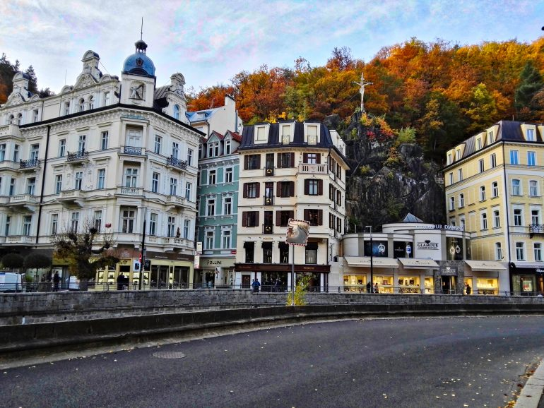 City of Karlovy Vary, Czech Republic