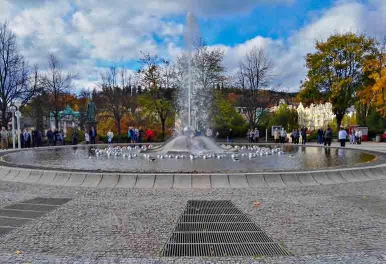 The Singing Fountain - Mariánské Lázně